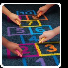 kindergarten chalk